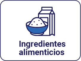 Ingredientes alimenticios